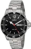 Edox Men's 'Chronorally-S' Quartz Stainless Steel Sport Watch, Color:Silver-Toned (Model: 84300 3M NBN)