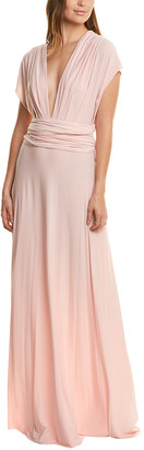 Issue New York Pleated Gown