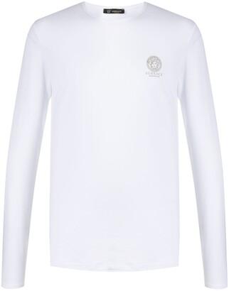 Versace Medusa Head long sleeves T-shirt