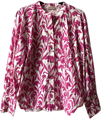 Stine Goya Pink Cotton Tops