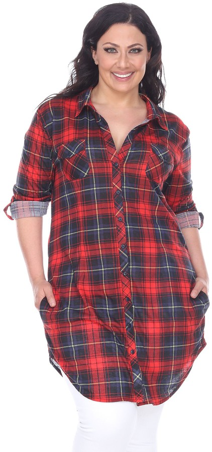 9a145f7a7 Women's Red And Black Flannel - ShopStyle