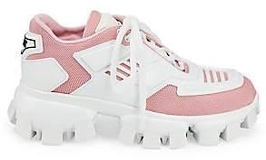 Prada Women's Lug-Sole Chunky Sneakers