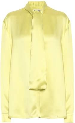 Balenciaga Silk-satin blouse