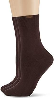 Nur Die Women's opaque Calf Socks,6 - 9