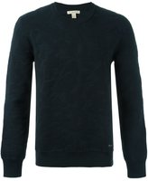 Burberry textured sweatshirt