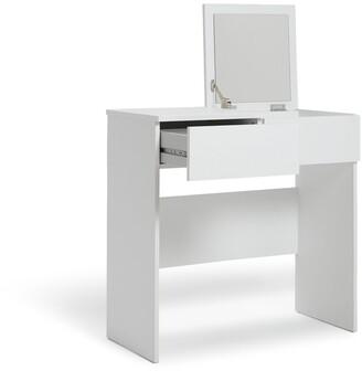 Argos Home Malibu 1 Drawer Dressing Table & Mirror