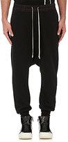 Rick Owens Men's Cotton Fleece Prisoner Sweatpants-BLACK