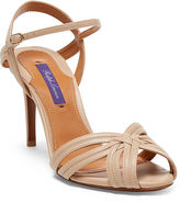 Ralph Lauren Astraia Nappa Leather Sandal