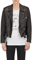 Enfants Riches Deprimes Men's Printed-Back Leather Jacket