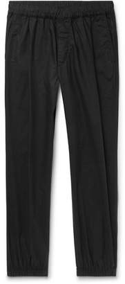 McQ Tapered Pleated Cotton-Poplin Trousers