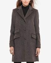 Lauren Ralph Lauren Single-Breasted Walker Coat, Only at Macy's