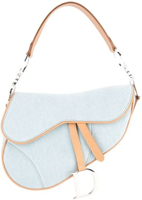 Christian Dior Pre-Owned Denim Saddle Bag