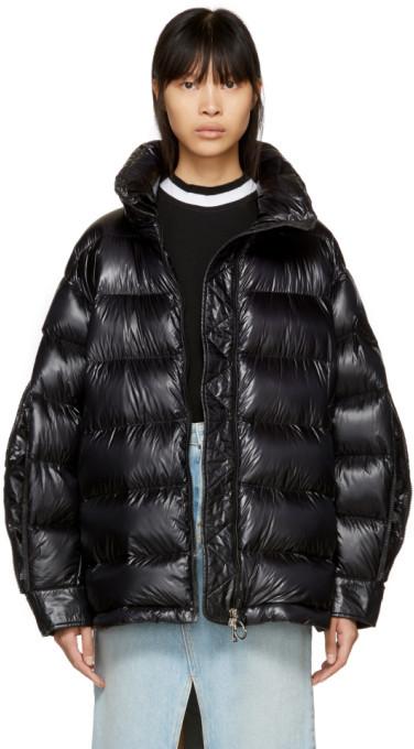 Moncler Black Down Ottawa Jacket