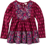 Arizona Long-Sleeve Woven Boho Peplum Top - Preschool Girls 4-6x