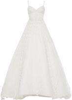Elizabeth Kennedy M'O Exclusive Sweetheart Foliage Gown
