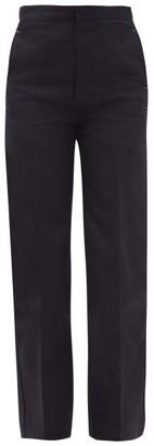Jil Sander High-rise Tailored Jeans - Dark Blue