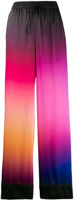 Mary Katrantzou Ombre Drawstring Trousers