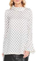 Vince Camuto Fold Over Neck Shirt