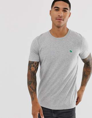 Abercrombie & Fitch icon logo t-shirt in gray