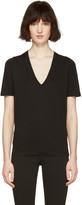 DSQUARED2 Black V-Neck Renny Fit T-Shirt