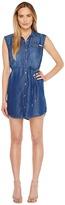 Calvin Klein Jeans Sleeveless Denim Utility Dress Women's Dress