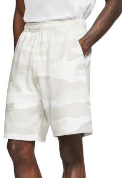 Nike Men's Club Fleece Camo Shorts