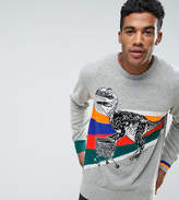 Diesel T-Rex Rainbow Knit