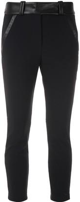 Gloria Coelho Side Pockets Cropped Trousers