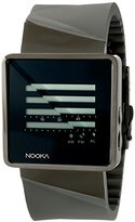 Nooka Unisex ZIZMZENHTI Digital Display Quartz Grey Watch