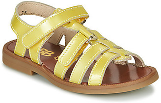 GBB KATAGAMI girls's Sandals in Yellow