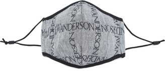 J.W.Anderson Logo Pattern Face Mask