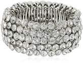 Carolee Stretch Silver Crystal Bracelet