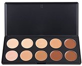 Easy lifestyles Professional 10 Warm Colors Concealer Camouflage Foundation Makeup Contour Palette Face Contouring Kit