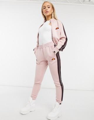 Ellesse Neoprene Jogger In Pink Co