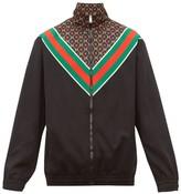 Gucci - Gg Star Jersey Jacket - Mens - Black Brown