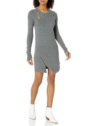 Pam & Gela Women's Shredded Dress