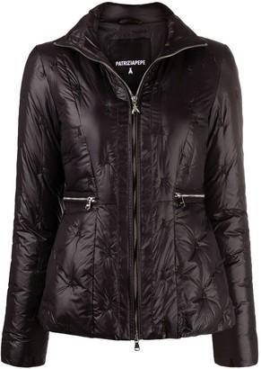 Patrizia Pepe Pintucked Puffer Jacket
