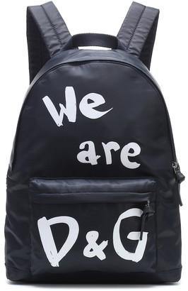 Dolce & Gabbana Kids Logo backpack
