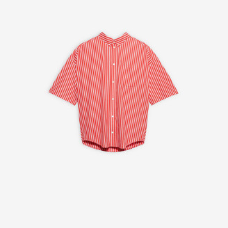 Balenciaga Cocoon Short Sleeve Swing Shirt