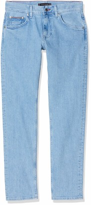 Tommy Hilfiger Men's Slim Bleecker Str Alton Blue Loose Fit Jeans