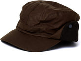 Barbour Brown Wax Westoe Cap