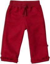 Kickee Pants Ruffle Sweatpants (Baby) - Brick-18-24 Months