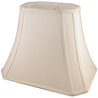 """American Heritage Lampshades Bauchman Rectangle Bell Lampshade, 14""""x8""""x10.75"""""""