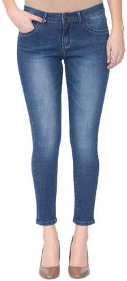 Lola Jeans Mid-Rise Skinny Ankle Jeans