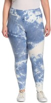 Planet Gold Tie Dye Leggings (Plus Size)