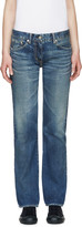 Visvim Blue Social Sculptures Slim-fit Jeans