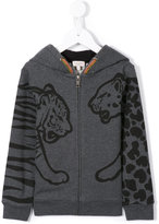 Paul Smith animal print hooded sweatshirt