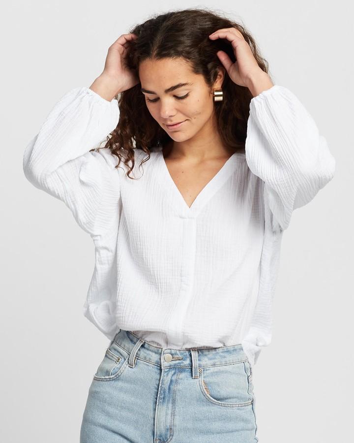 Atmos & Here Venessa Cotton Blouse