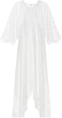 Chloã© Lace cotton-blend maxi dress