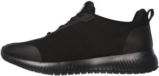 Skechers Squad SRWorkwear Slip Resistant Trainers - Black